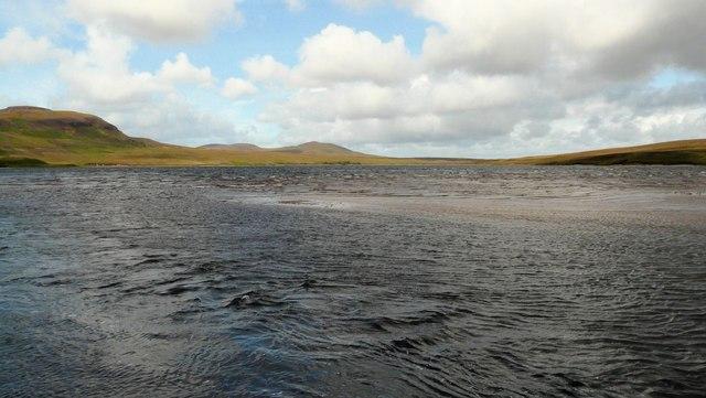 Burn mouth, Loch Craggie