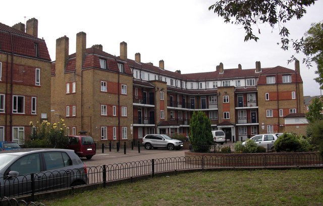 Amos Estate (part), Rotherhithe Street, London, SE16