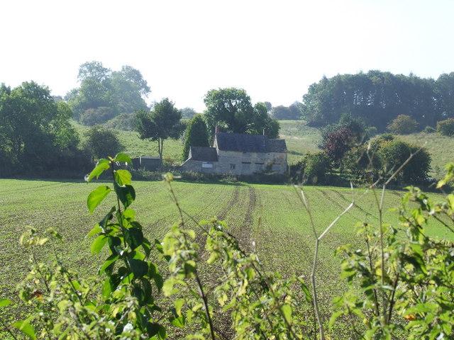 Old Inn at foot of Penhill