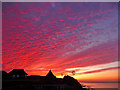 TG2142 : Cromer Sunset by Christine Matthews