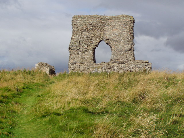 Remains of 13thcentury castle