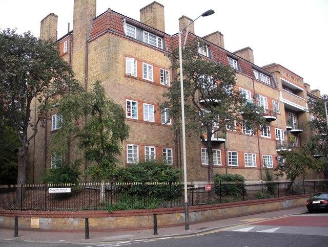 Acorn Estate (part), Rotherhithe Street, London, SE16