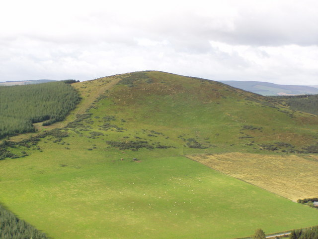 Hill o'Christ from Dunnideer