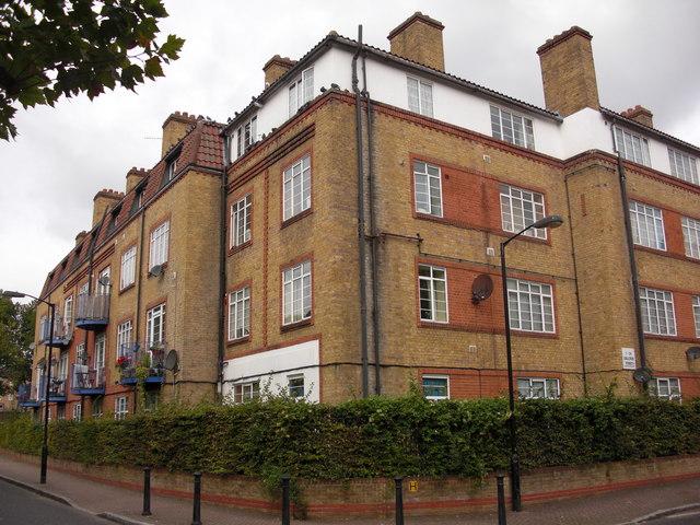 Redriff Estate (part), Rotherhithe, London, SE16