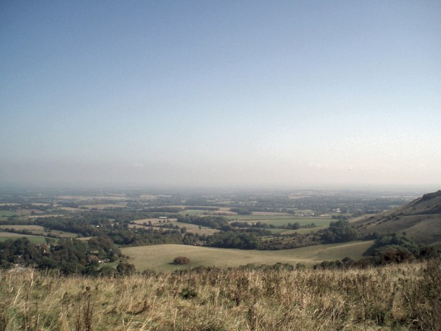 View north from Ditchling Beacon