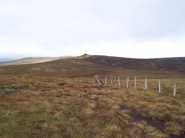 Summit of Shielcleugh Edge