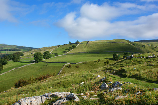 Looking over the Dowber Gill Beck valley