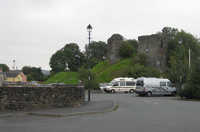 Ruins of Llandovery Castle