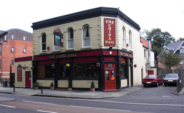 China Hall pub, 141 Lower Road, Rotherhithe, London, SE16