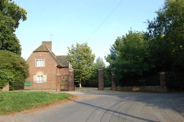 Entrance to Peasmarsh Place