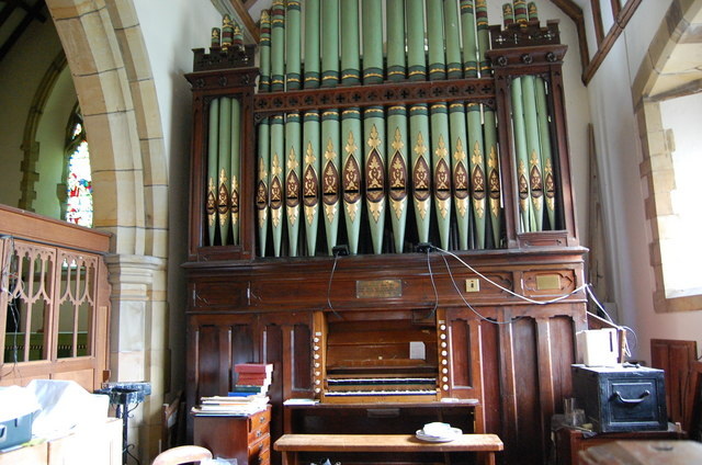 The Organ, Beckley Church