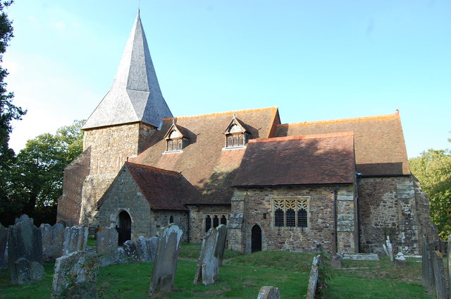 Beckley Church, South View