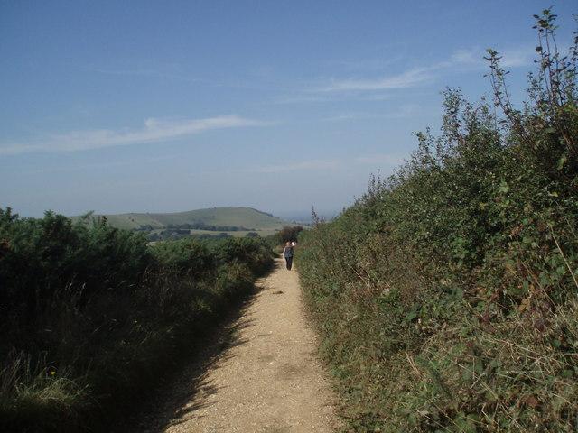 Path near Jack & Jill Windmills