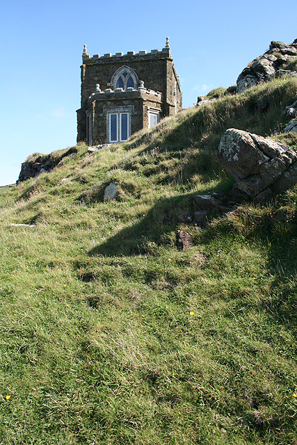 St Minver Highlands: Doyden Castle