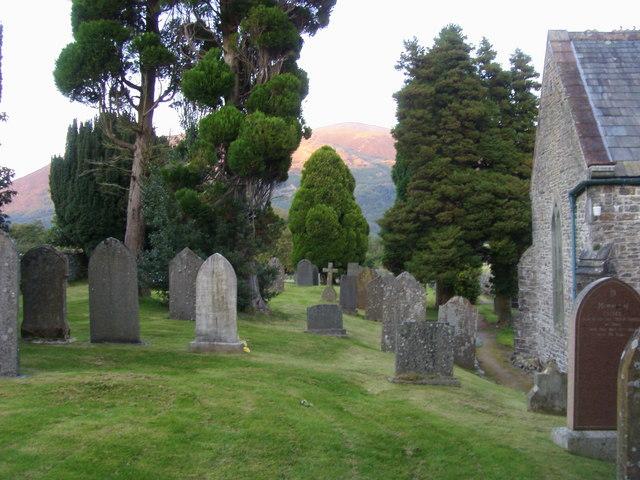 Churchyard of St Mary's Church Thornthwaite