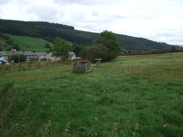 Remains of an Royal Observers monitoring post in Penmachno