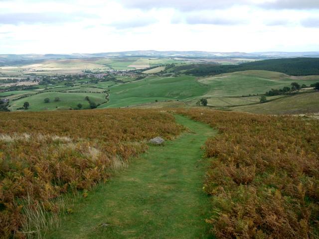 Path on Humbleton Hill