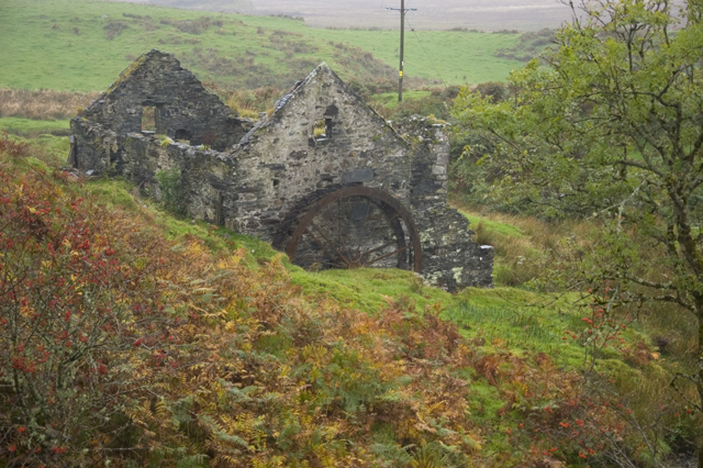 Ruined watermill, near Achfolla, Isle of Luing
