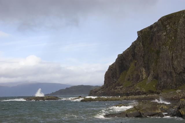 Cliffs of Dun Mor, Ellenabeich