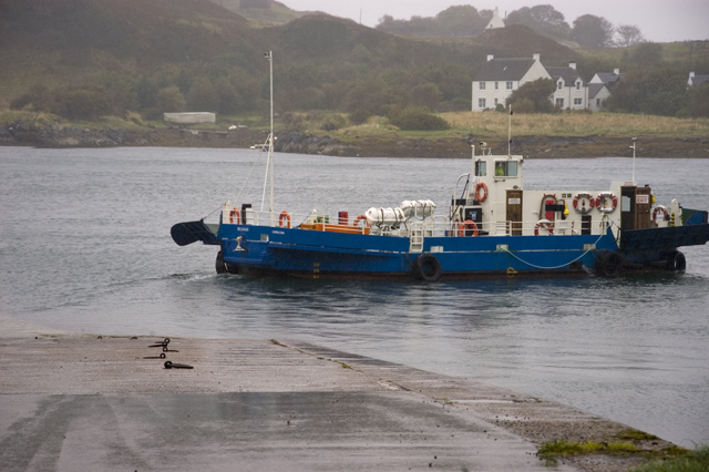 The Cuan ferry at Luing