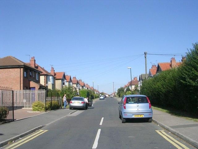 Jesmond Road - Knaresborough Road