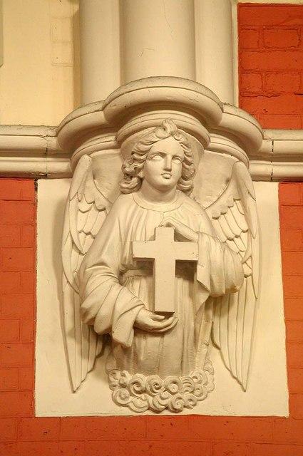 St Stephen, Gloucester Road, London SW7 - Corbel