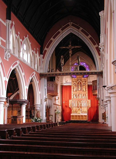 St Stephen, Gloucester Road, London SW7 - East end