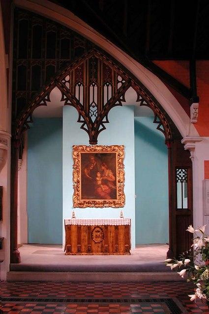 St Stephen, Gloucester Road, London SW7 - Lady Chapel