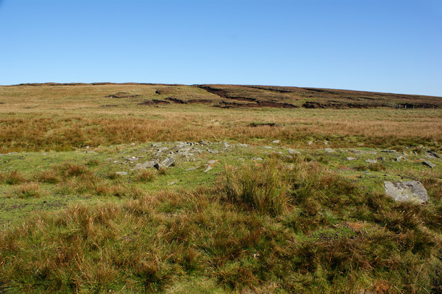 The moor to the east