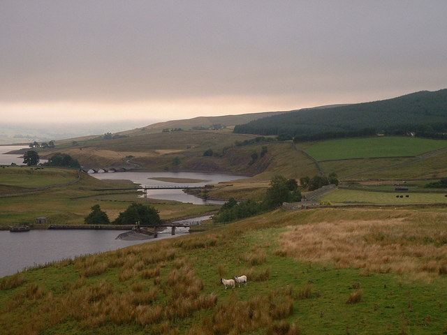 Looking down the valley towards Grassholme