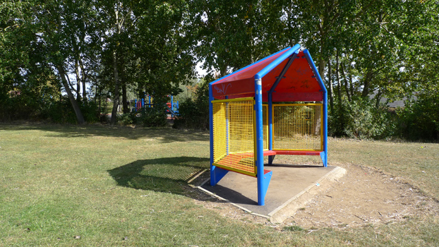 Shelter at Beanhill, Milton Keynes