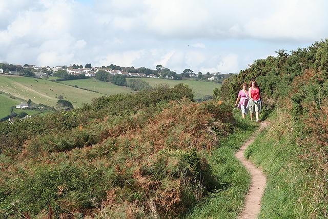 Lansallos: on the South West Coast Path
