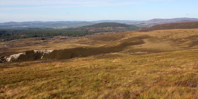 Moorland near Allt Fionna Choire