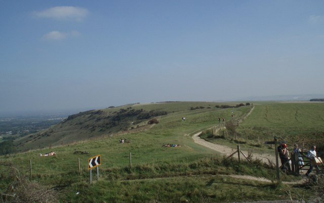 View East from Ditchling Beacon