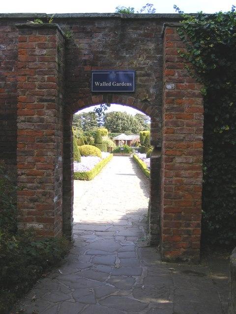 Entrance to Walled Garden