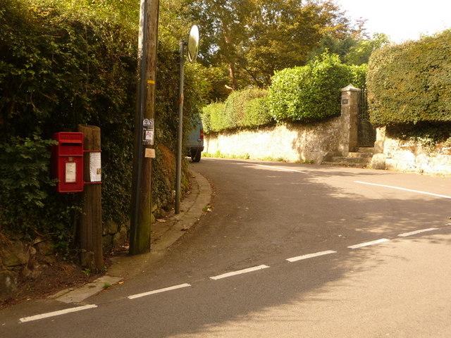 Shaftesbury: postbox № SP7 21, St. John's Hill