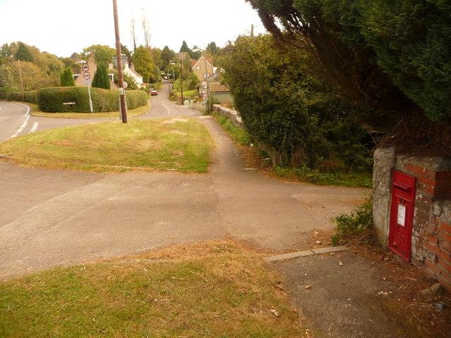 Shaftesbury: postbox № SP7 119, Long Cross