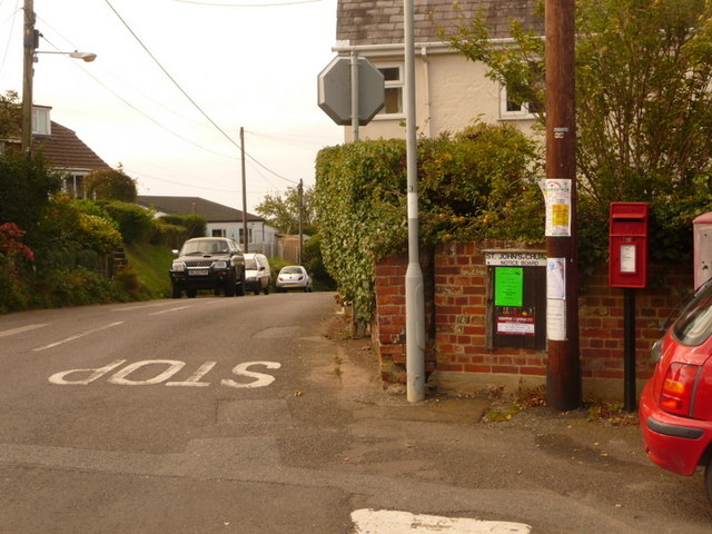 Shaftesbury: postbox № SP7 5, Enmore Green