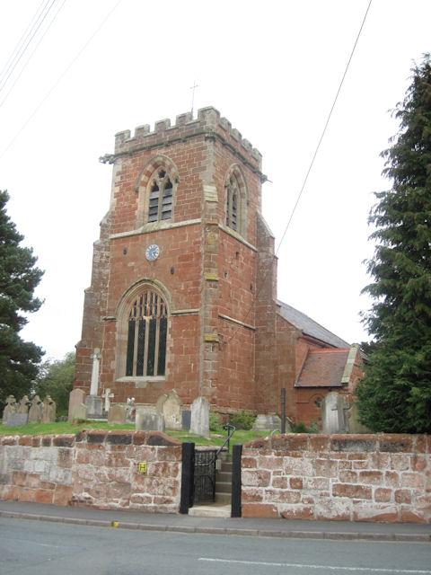 St Mary's Church Kinnerley