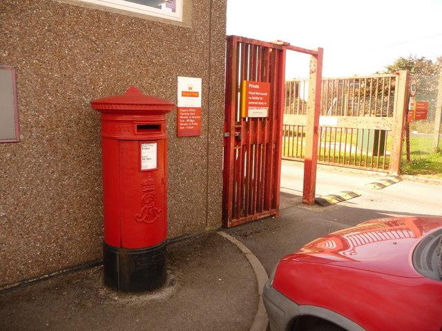 Shaftesbury: postbox № SP7 110, Longmead