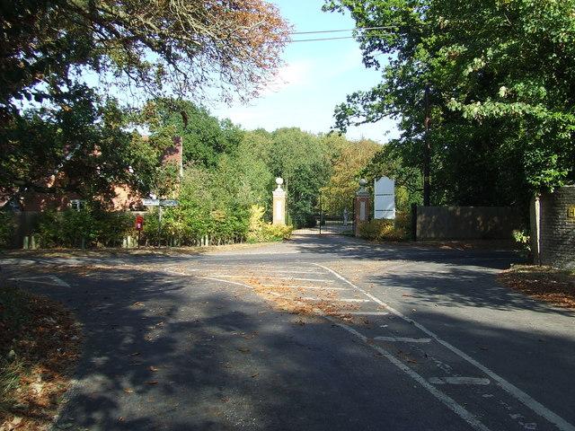 Entrance To Ashfield Grange