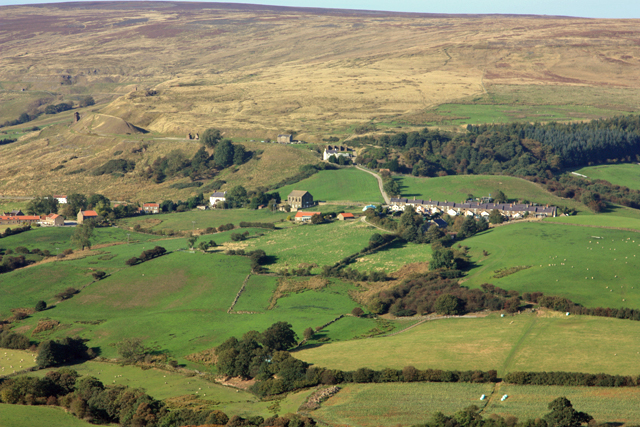 Hill Cottages, above Rosedale Abbey
