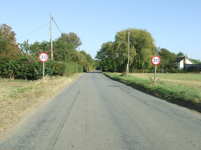 Entering Long Thurlow