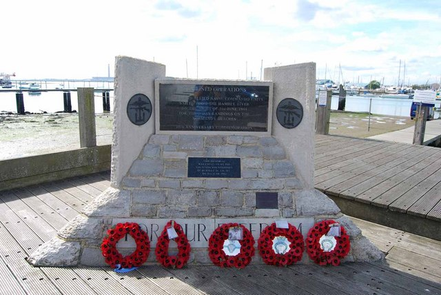 D-Day memorial in Warsash