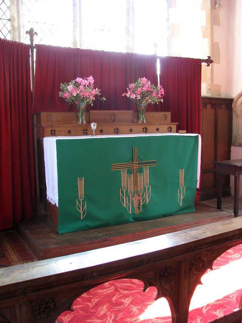 St Mary's church - the altar