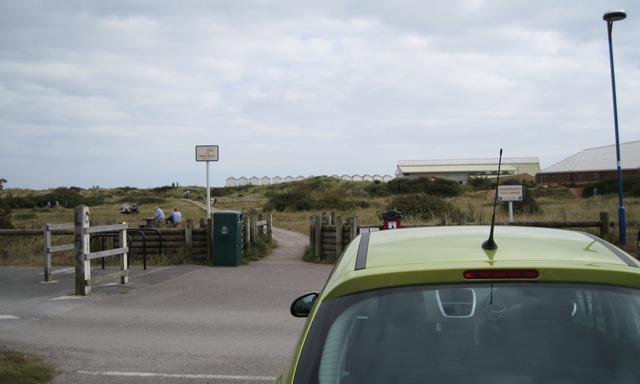 The path to the beach, Dawlish Warren