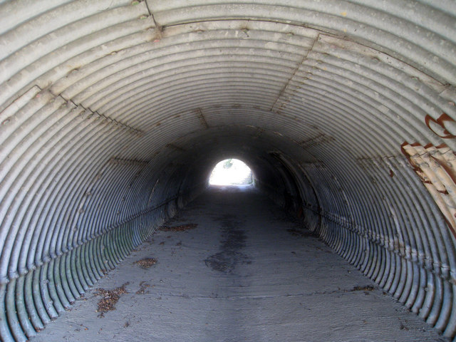 Tunnel Under A21 Dual Carriageway