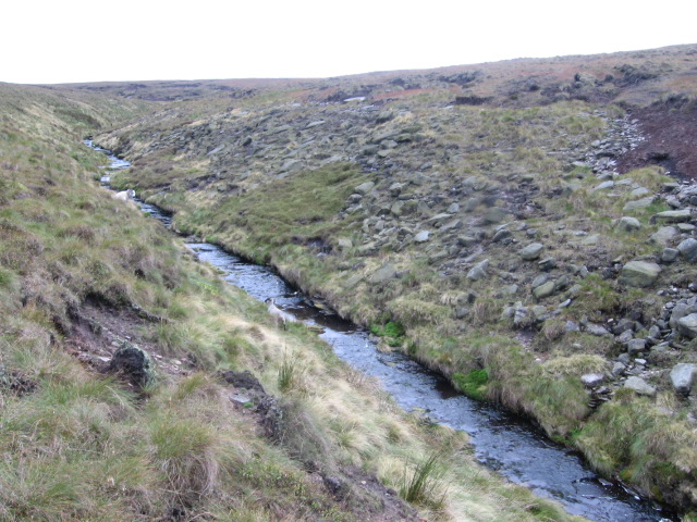 Shiny Brook on Wessenden Moor