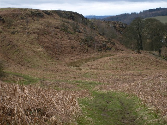 Croy Hill, the North West Frontier