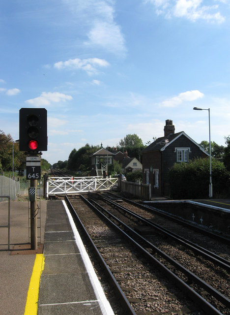 Plumpton Green Level Crossing